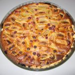 Tarte  la rhubarbe de Pascale B.