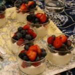 Dessert au mascarpone et aux fruits frais