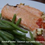 Saumon aux petits lgumes