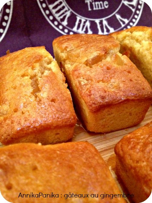 gâteau au gingembre