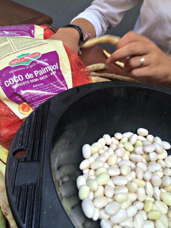 Cocos de paimpol avec de la saucisse de toulouse - Cuisiner les cocos de paimpol ...