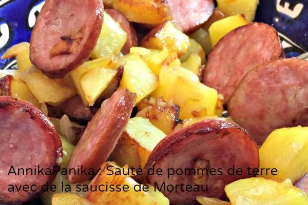 Pommes terre morteau
