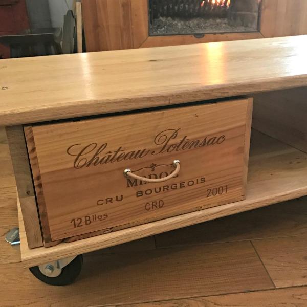 Une Table Basse Faite Maison Annikapanika