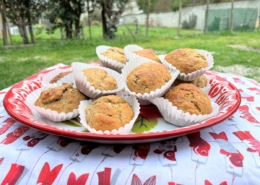 Muffins aux graines de chia et cardamone