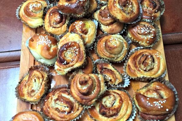 Kanelbulle avec le Cooking Chef