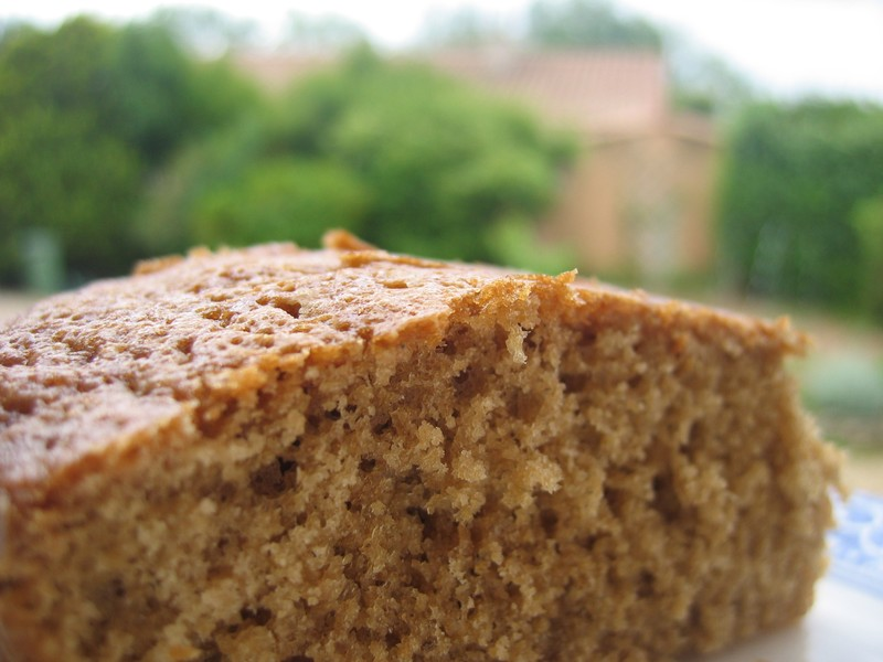 gâteau Cardamome café