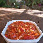 Tomates poivron ail